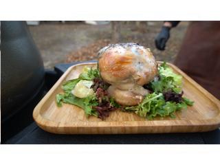 Цыпленок без костей фаршированный от Лайпакова на гриле BGE. Рецепты для гриля