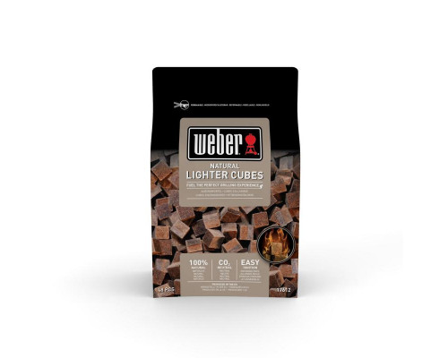 Кубики для розжига натуральные Weber 17612