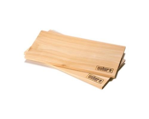 Кедровые доски для копчения Weber 50019
