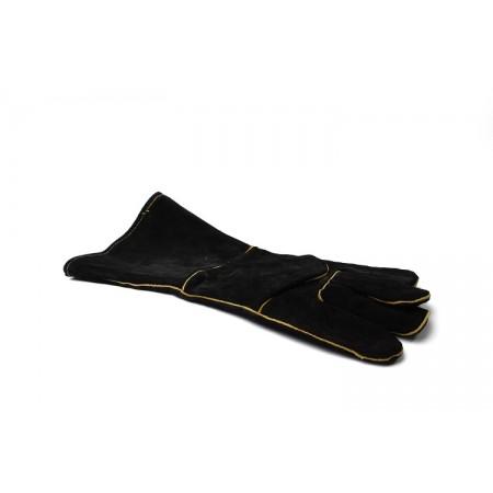 Термостойкие длинные кожаные перчатки 2 шт. GRILLI 77718