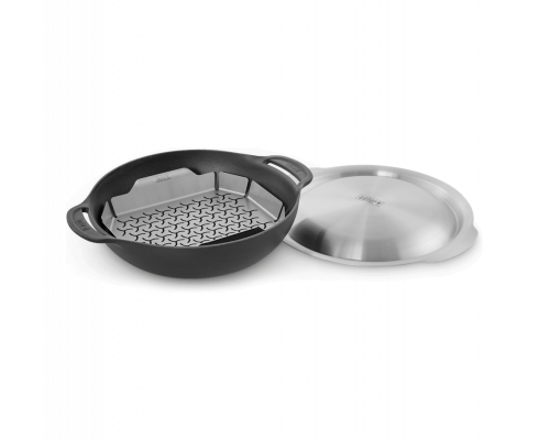 Сковорода-вок с вставкой-пароваркой для гриля Weber GBS 8856