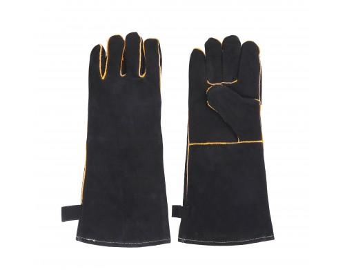 Термостойкие кожаные перчатки для гриля 2 шт. GRILLI 777702
