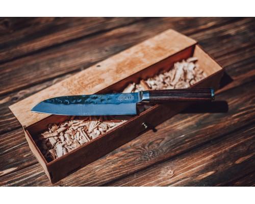 Нож из дамасской стали Santoku professional GRILLI, 17см 77728
