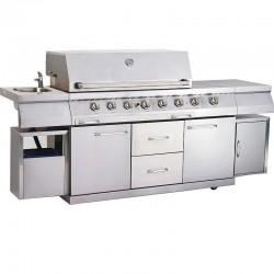 Газовый гриль-кухня ZURICH SwissGrill ZK-650 8 горелок (ПРЕЗЕНТАЦИОННЫЙ) продан