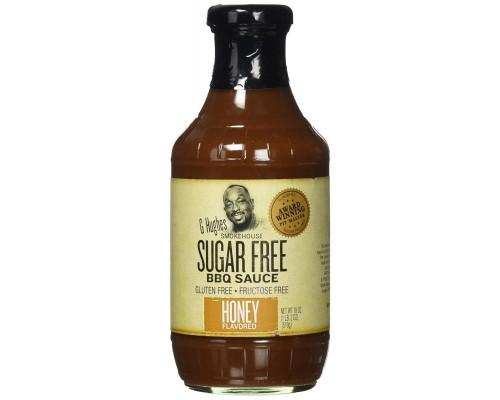 Барбекю соус G Hughes Smokehouse Sugar Free BBQ Sauce 500мл Honey(медовый)