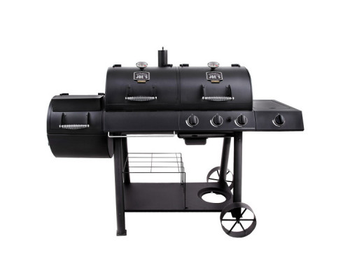 Комбинирований гриль-коптильня Oklahoma Joe's Longhorn Combo Charcoal/Gas Smoker & Grill 15202029