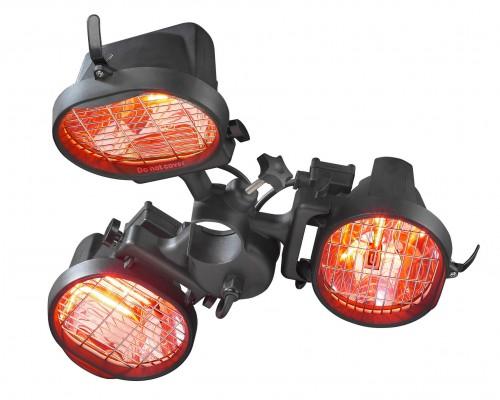 Электрообогреватель Eurom 1.5квт подвесной 3х-ламповый 333329