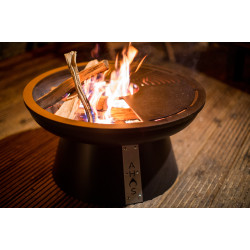 Мангал ТМ AHOS, FIRE PIT 600 - Черное термостойкое покрытие