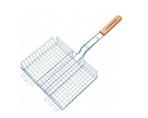 Решетка для барбекю Campingaz двойная, регулируемая 29х23 057053