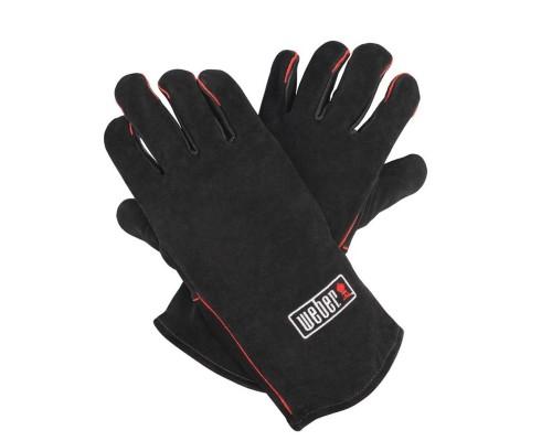 Кожанные перчатки для гриля Weber 17896