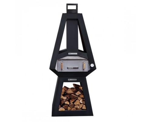 Печь для пиццы Quan, черная QN91151