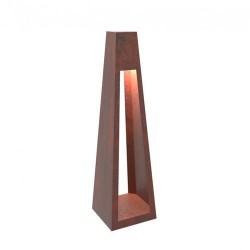 Фонарь тумба с внешнем освещением Quan, высокий, коричневый QN94510