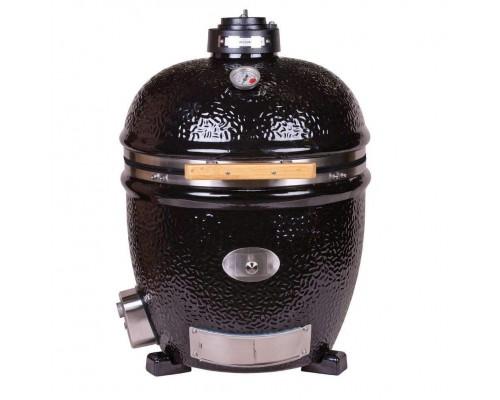 Керамический угольный Monolith LeCHEF BBQ Guru edition Pro-serie 1.0, черный, без подставки
