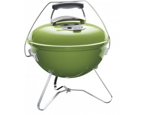 Портативный угольный гриль Weber Smokey Joe Premium 37 см, зеленый 1127704