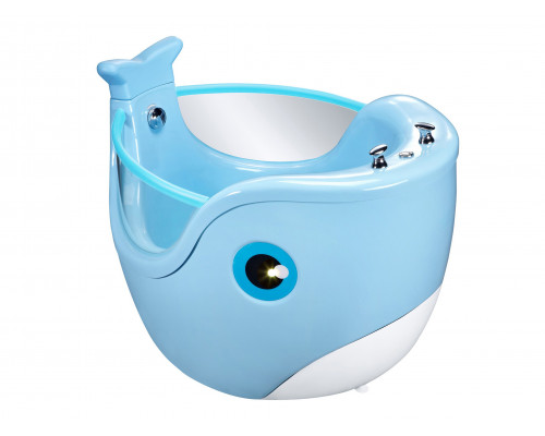 Гидромассажный СПА бассейн ТМ PASSION, Baby Whale Blue