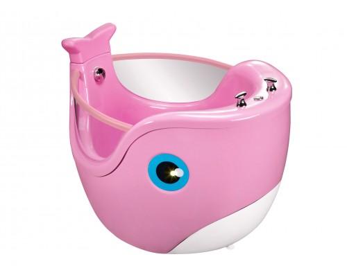Гидромассажный СПА бассейн ТМ PASSION, Baby Whale Pink