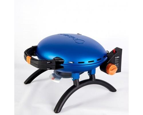 Портативный переносной газовый гриль O-GRILL 500, синий