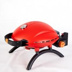 Портативный переносной газовый гриль O-GRILL 800T, красный