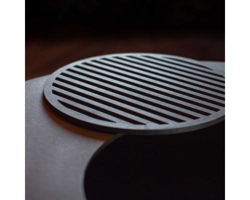 Решетка гриль UNO GRILL Черное термостойкое покрытие 25см