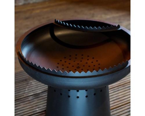 Стойка для шампуров UNO Shamp Черное термостойкое покрытие 25см