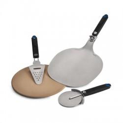 Набор для пиццы (камень, нож, лопатка, терка) Napoleon 90002