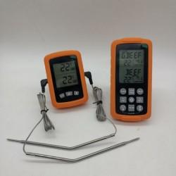 Цифровой выносной двухзонный термометр GRILLI 777762