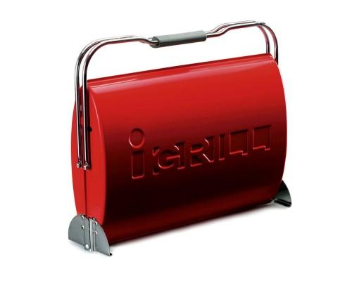 Портативный угольный гриль I-GRILL O-GRILL красный