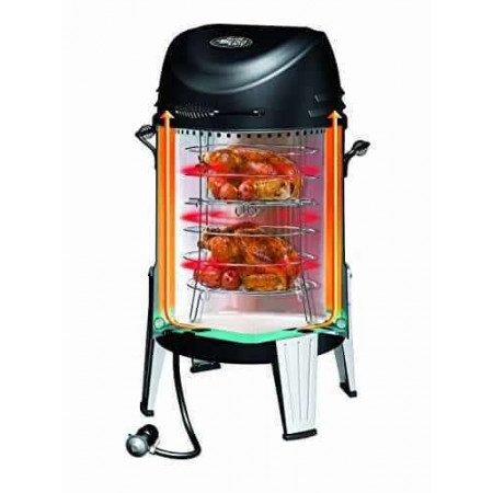 Газовый гриль-коптильня Big Easy Smoker Roaster Grill Char-Broil 14101550