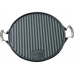 Круглая чугунная сковорода для гриля Roesle R25075