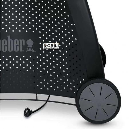 Электрический гриль Q240 черный на подставке Weber 310179