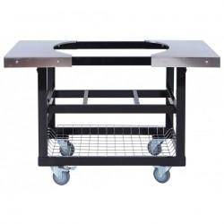Металлический стол-тележка для гриля Primo 370