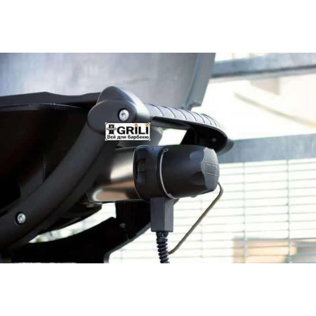 Электрический гриль Q140 серый Weber 522079/52020079