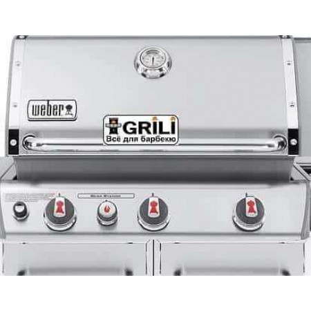Гриль газовый Genesis S-330 металлик Weber 6570075