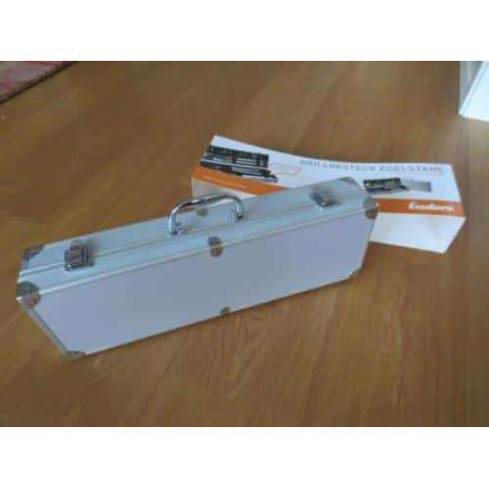 Набор принадлежностей для гриля в алюминиевом кейсе Enders 8408