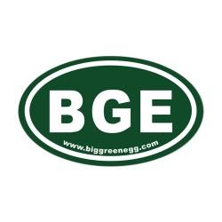 Магнит овальный на холодильник Big Green Egg OVAL MAGNET