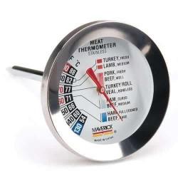Металлический стрелочный термометр большой Maverick RT-01