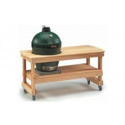 Длиный стол для гриля Large Big Green Egg Y5TAB4