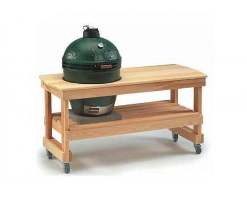 Длиный стол для гриля Large Big Green Egg