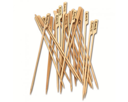 Набор деревянных шампуров из 25 шт. Big