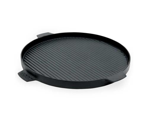 Плита круглая двухсторонняя для гриля Big Green Egg 32см 117656