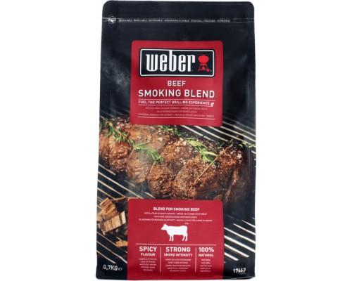 Древесные чипсы для копчения к говядине Weber 17663