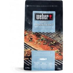 Древесные чипсы для копчения к рыбе Weber 17665