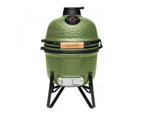 Маленький керамический угольный гриль, зеленый BergHOFF 2415704