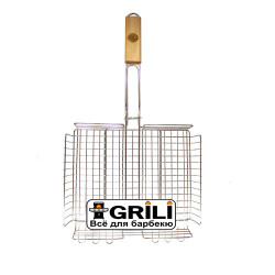 Маленькая решетка-гриль для барбекю GRILLI 77773