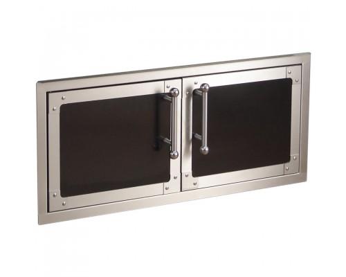 Встроенные дверцы FireMagic Diamond (черные) 53938H