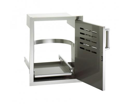 Встраиваемая дверка с поддоном для бака и левым открытием FireMagic 53820-SC-TR