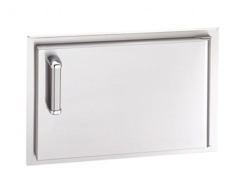 Встраиваемая горизонтальная дверка с левым открытием FireMagic 53914-SC-R