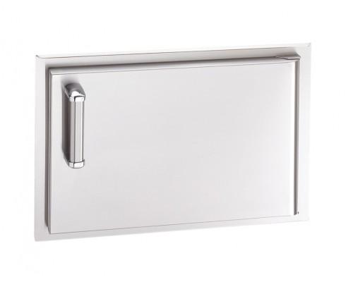 Встраиваемая горизонтальная дверка с левым открытием FireMagic 53917-SC-R