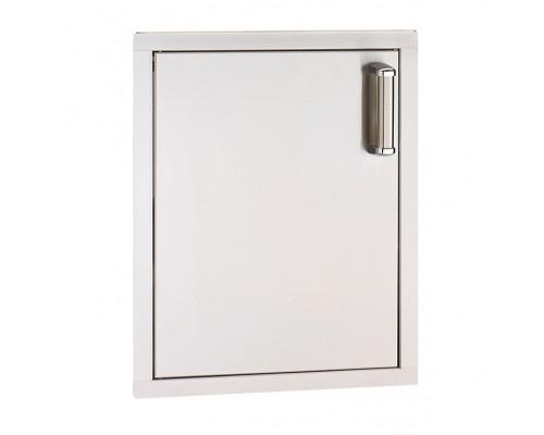 Встраиваемая вертикальная дверка с правым открытием FireMagic 53920-SC-L