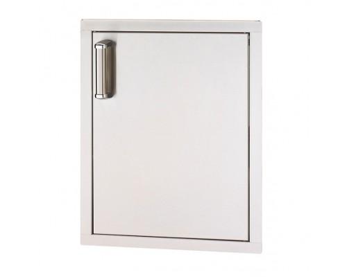 Встраиваемая вертикальная дверка с левым открытием FireMagic 53920-SC-R